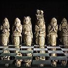 Ancient Chess Set by Wolf Sverak