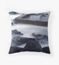 Outflow. Throw Pillow