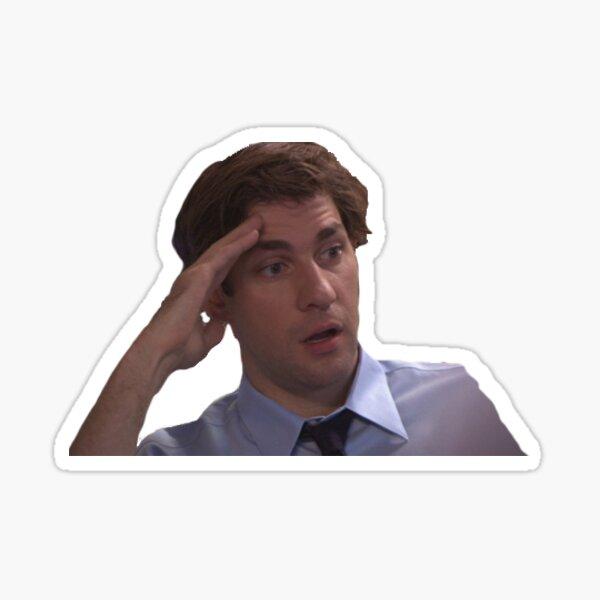 Jim Halpert Sticker - The Office Sticker