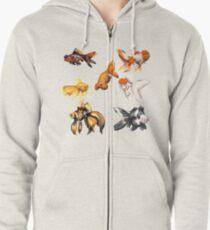 Goldfish! Zipped Hoodie