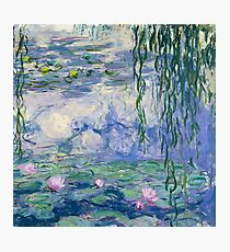 "Claude Monet ""Water lilies"" (16) Photographic Print"