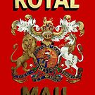 Royal Mail retro vintage crest by circuitsnap