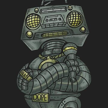 Dope Robot by dchalle