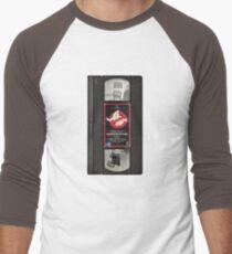 Ghostbusters VHS Men's Baseball ¾ T-Shirt