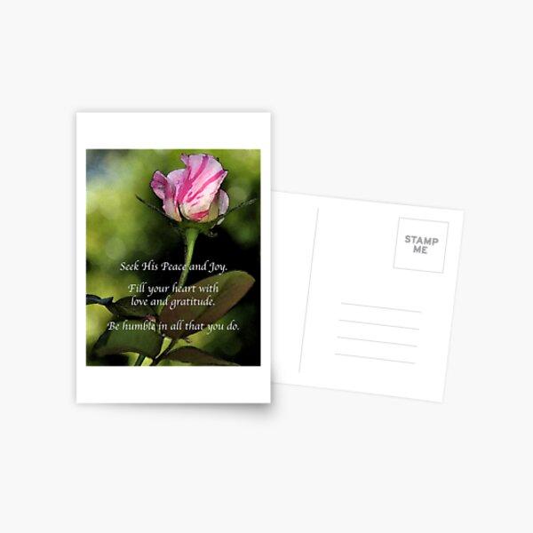 Love and Gratitude Postcard