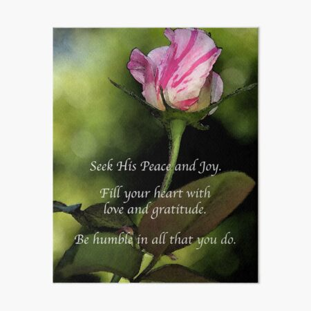 Love and Gratitude Art Board Print