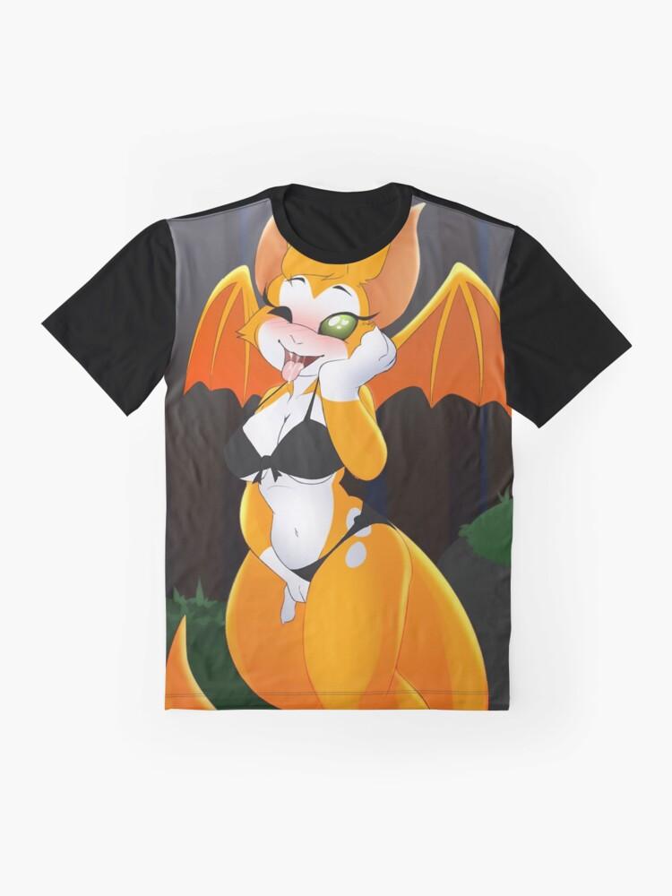 Alternate view of Small Naughty Fidget Graphic T-Shirt