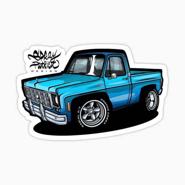 Chevy Silverado (Camión de Pete) Pegatina