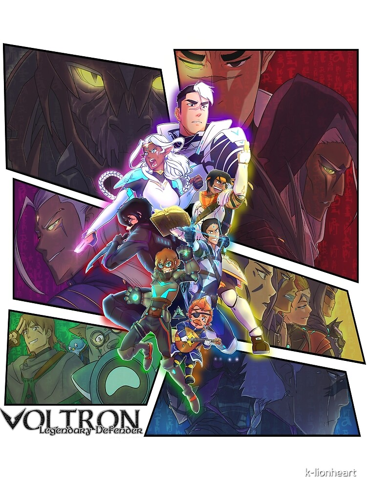 DUNGEONS AND VOLTRON!! - Let's Voltron Podcast Special Piece!! by k-lionheart