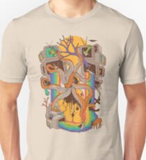 A Fragmented Reality Unisex T-Shirt