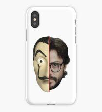 Professor - La Casa de Papel iPhone Case