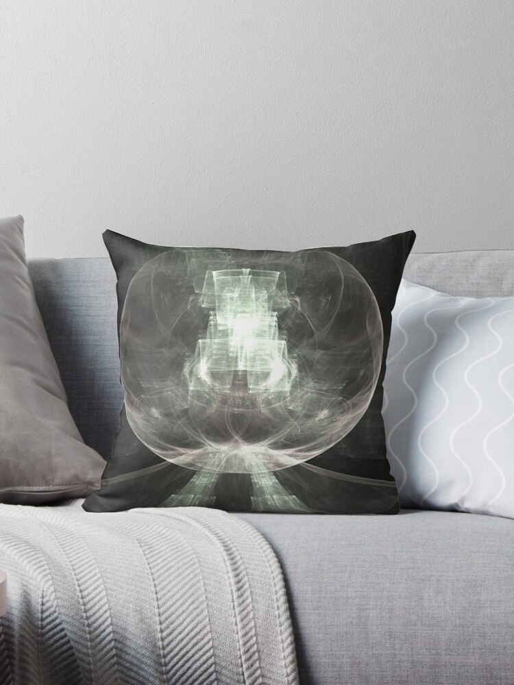 Beryl Sphere Throw Pillow By Kimsyok Redbubble