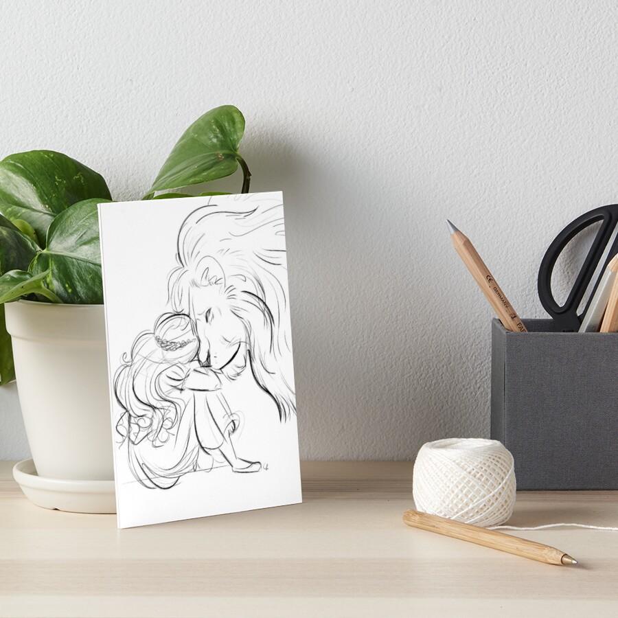 Arise Art Board Print