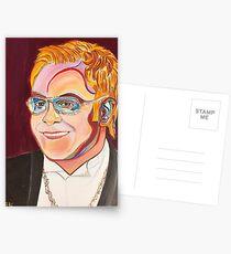 Musician Portrait  Postcards