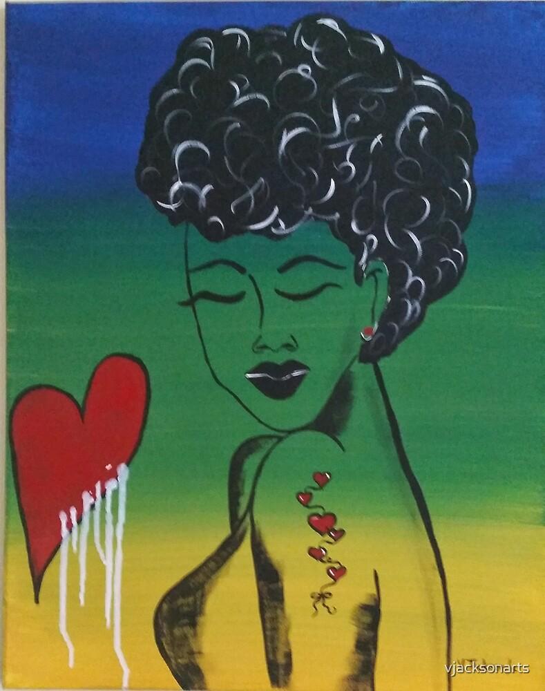 Bleeding Love by vjacksonarts