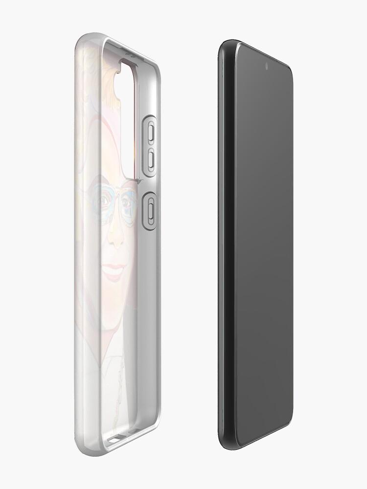 Alternate view of Musician Portrait  Case & Skin for Samsung Galaxy