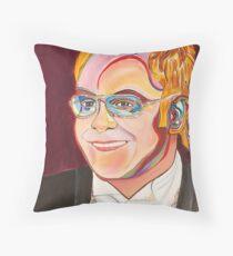 Musician Portrait  Throw Pillow