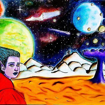 Alien planet by Bubucine