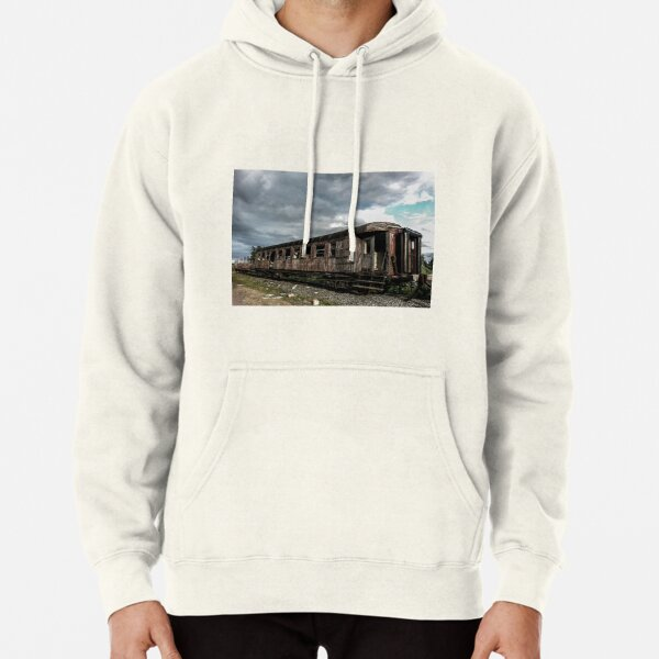 Abandoned Passenger Wagon Pullover Hoodie