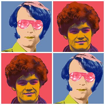 Warhol Monkees (Micky and Mike) by bluechroma