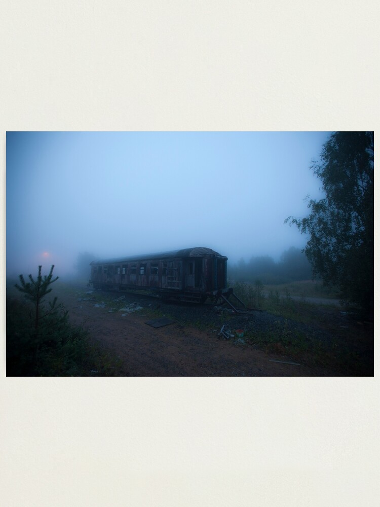 Alternate view of Ghost Train Photographic Print