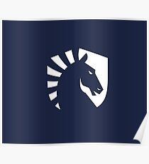 Team Liquid Logo White Poster