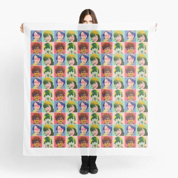 Warhol Monkees (Checkered) Scarf
