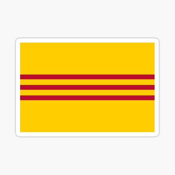 South Vietnamese Vietnam Flag - Cờ vàng ba sọc đỏ Sticker