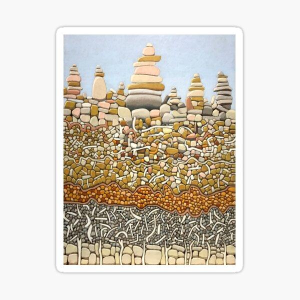 Silent Stones, Crowdy Bay. Sticker