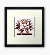 jazz blues Framed Print