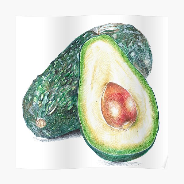its an avocado! thanks! Poster