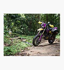 Jungle DRZ 400 SM Photographic Print