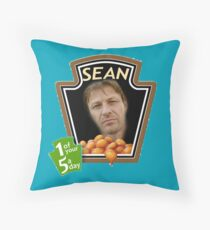 Heinz Sean Bean Throw Pillow