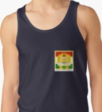 Dushanbe Coat of Arms, Republic of Tajikistan Men's Tank Top