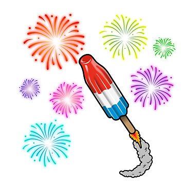 Pop Rocket by bluechroma