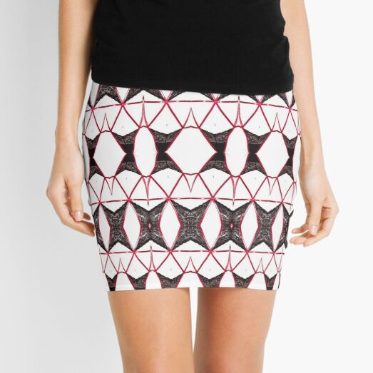 Hip, modish, astonishing, amazing, surprising, wonderful, remarkable, extraordinary Mini Skirt