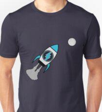 Elektroneum. ZUM MOND! Slim Fit T-Shirt
