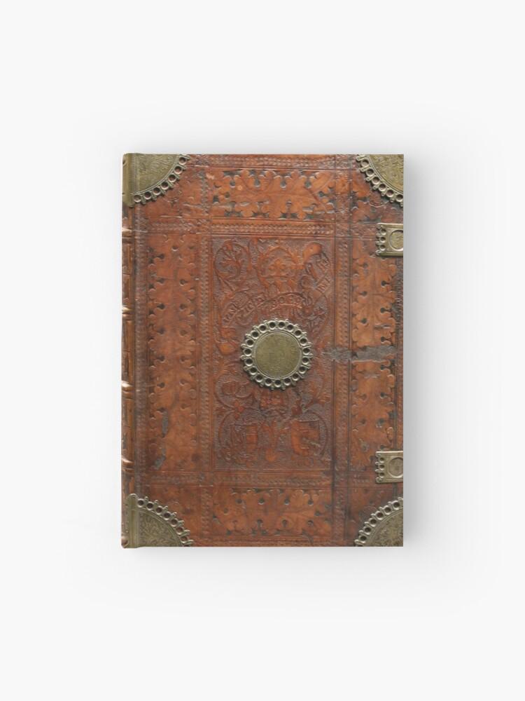 Ancienne Couverture De Livre En Cuir Et Laiton Nuremberg 1477 Carnet Cartonne