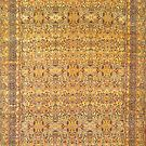Kirman Antique Persian Carpet by Vicky Brago-Mitchell