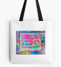 scattered bits and pieces of inspirations Tote Bag