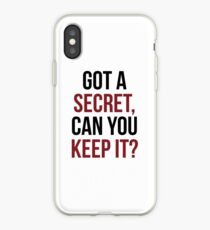 PLL Theme Song iPhone Case