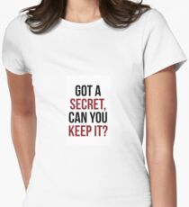 PLL Theme Song Women's Fitted T-Shirt