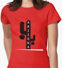 Arizona Red For Ed - Teacher Protest Strike Women's Fitted T-Shirt