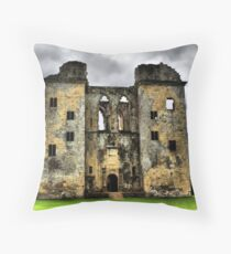 Old Wardour Castle 2 Throw Pillow