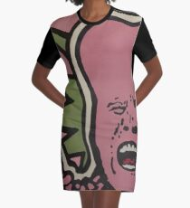 Outrage Unleashed Graphic T-Shirt Dress