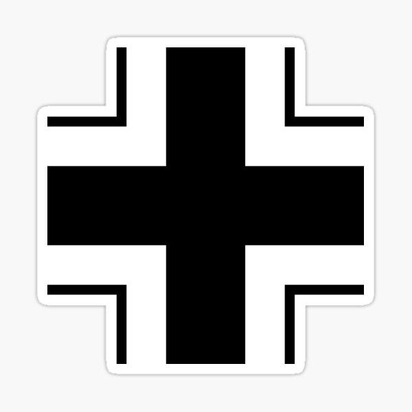 Insignia Wehrmacht alemana Pegatina