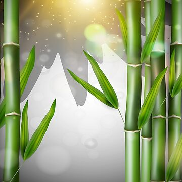 Bamboo Duvet Covers Field Of Bamboo At Dusk by CreatedProto