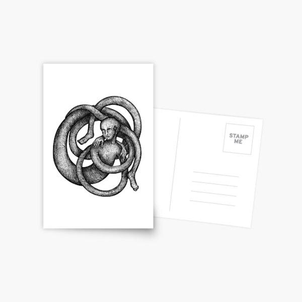 Selftangle III Postcard
