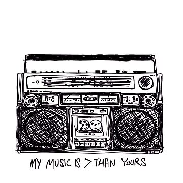 My Music is > Than Yours by Travnash