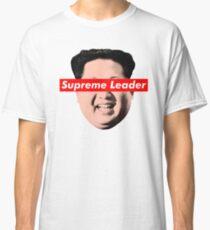 Supreme Leader Un - Kim Jong Un Parody T-Shirt Classic T-Shirt